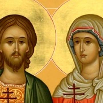 Почитаме мъчениците Адриан и Наталия