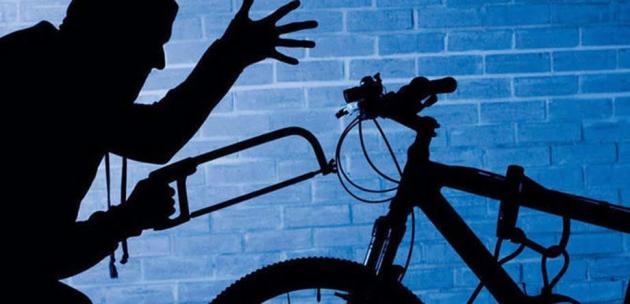 Обраха моторен трион, велосипед и вещи от мазе в Кочериново