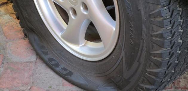 Срязаха 4 гуми на Волво в Кюстендил