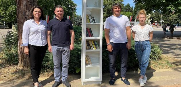Кюстендил вече има нова споделена библиотека, дарена от Христо Терзийски и кандидатите от ГЕРБ – СДС