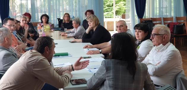 Областният управител и РИК - Кюстендил обсъдиха организацията на изборите