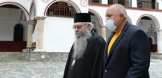 Б.Борисов от Рилския манастир: В рамките на мандата правителството отпусна на обителта  3 052 000 лева