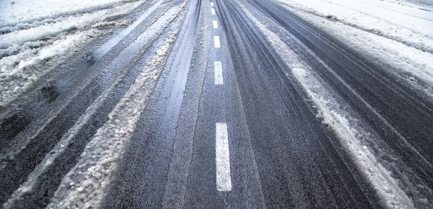 Мокри и хлъзгави са настилките в Област Кюстендил