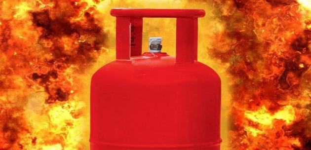 Неизправна газова бутилка предизвика пожар в с.Стоб