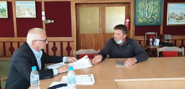 Областният управител инж. Александър Пандурски и неговите заместници проведоха изнесени приемни в Бобошево, Рила и Кочериново
