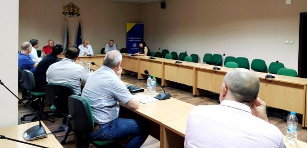 Областният управител и ръководството на МВР – Кюстендил проведоха работна среща за изборите