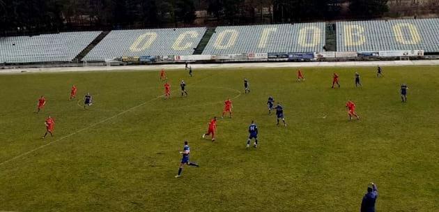 """Марек"" с класическа победа срещу ""Велбъжд"" в контрола играна в Кюстендил"