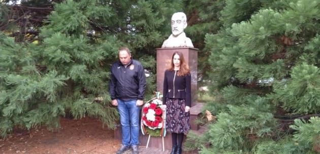 Дупничани се поклониха пред Христаки Павлович и народните будители (+АУДИО)